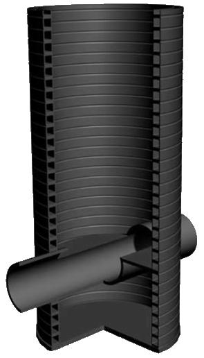 Дренажный колодец из пластика